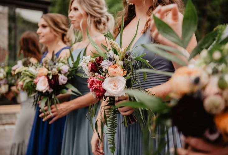 women wearing dress under the same dress code